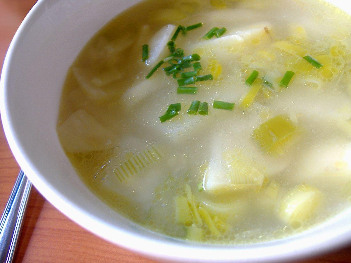Potato-Leek Soup Potato-Leek Soup new foto