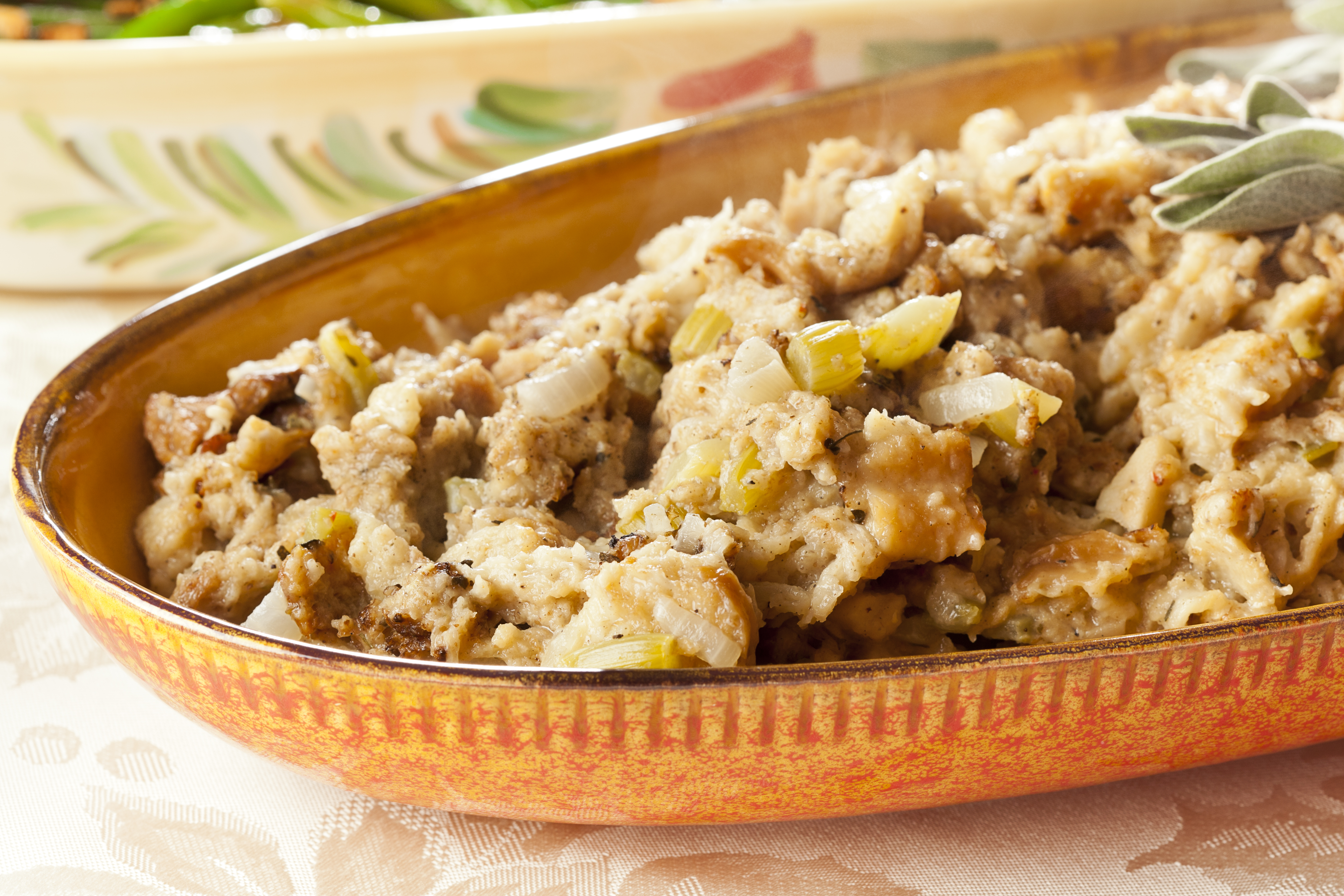 Old fashioned bread stuffing 85