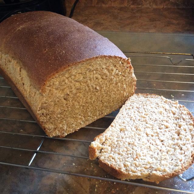 100 whole wheat bread machine recipe