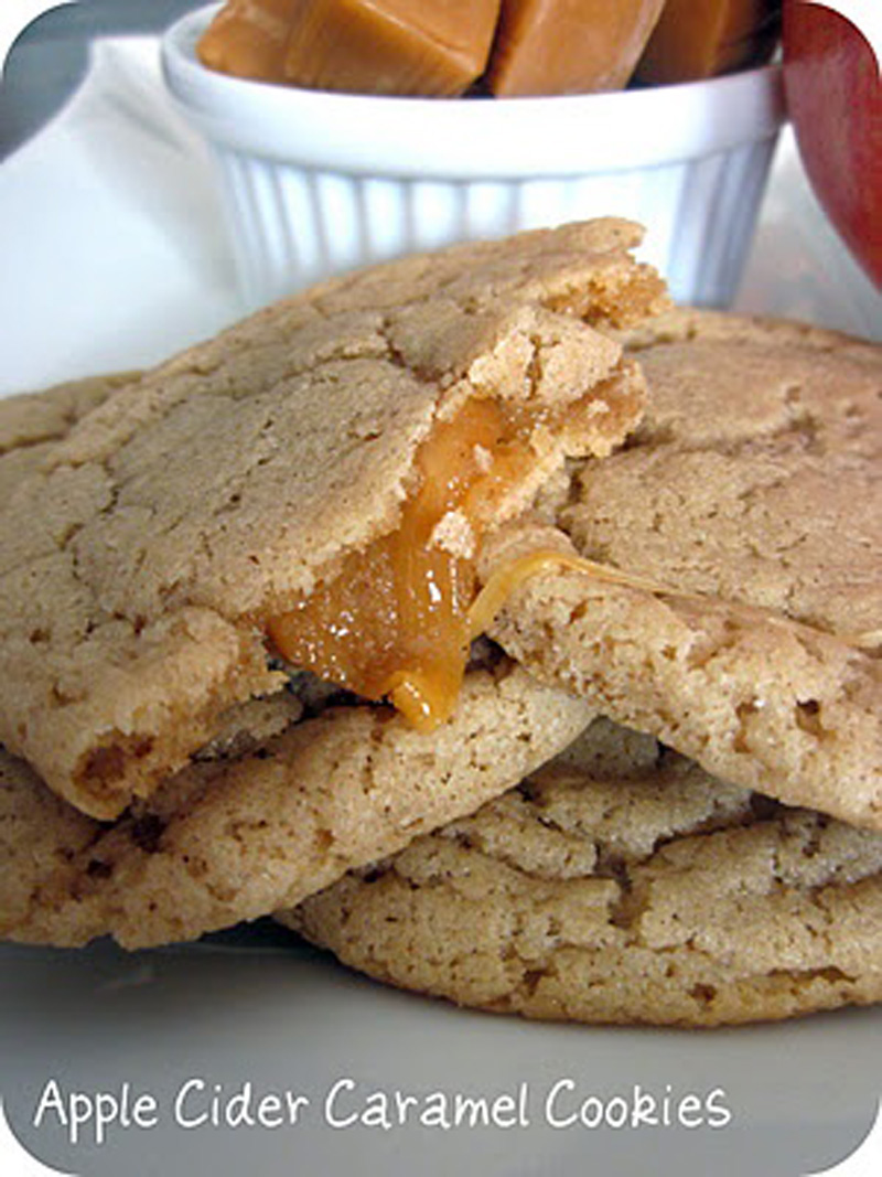 Apple Cider Caramel Cookies - BigOven