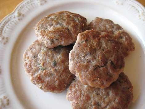 Apple Turkey Sausage Patties - BigOven