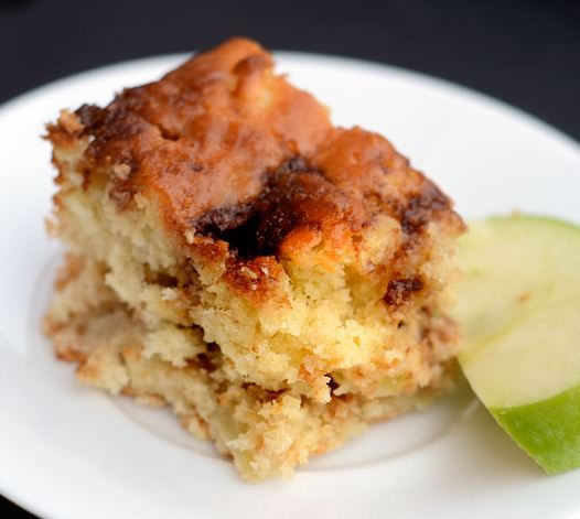 Apple Yogurt Cake with Cinnamon-Sugar Streak - BigOven