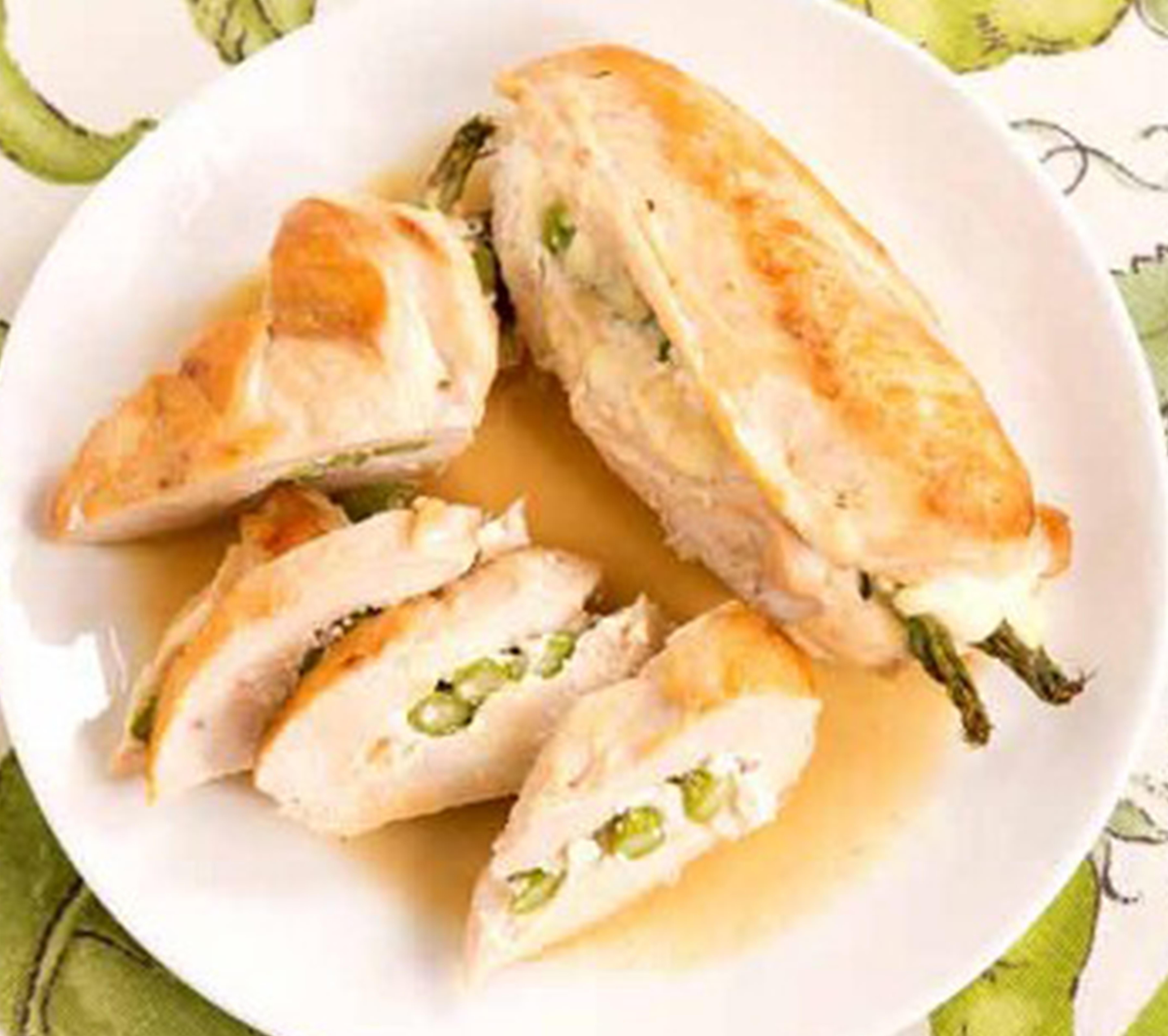 Asparagus and Ricotta Stuffed Chicken - BigOven