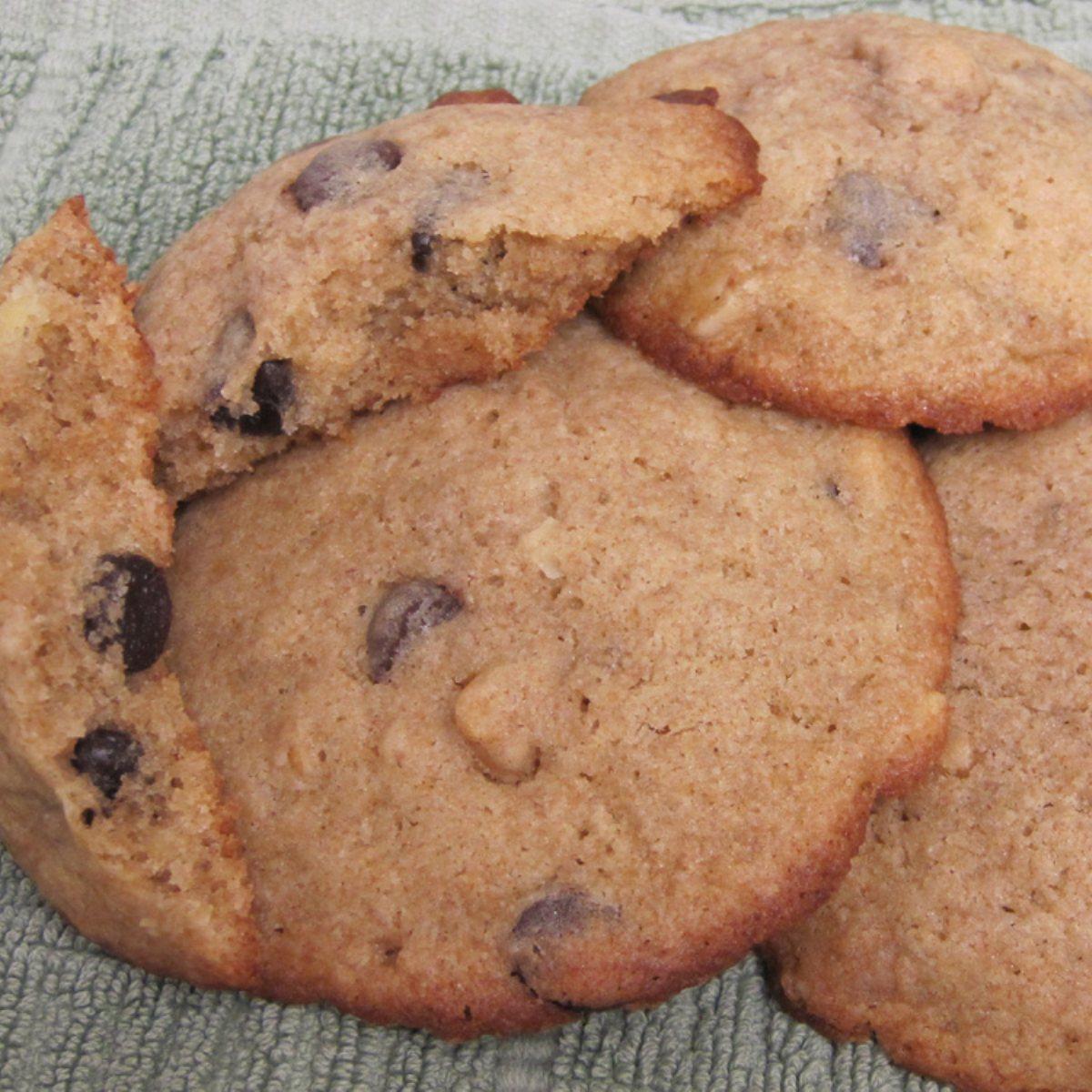 Banana Walnut Chocolate Chip Cookies - BigOven