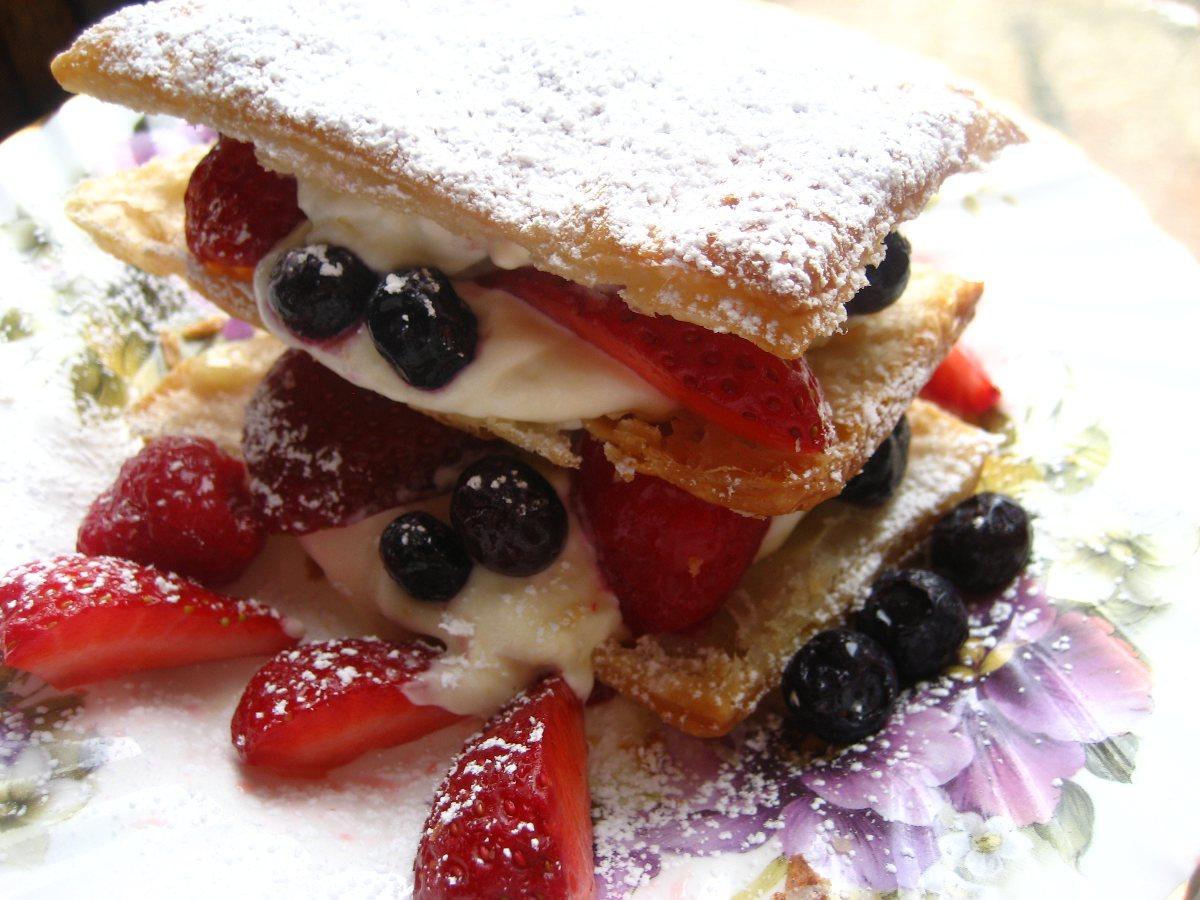 Berry Napoleon - BigOven