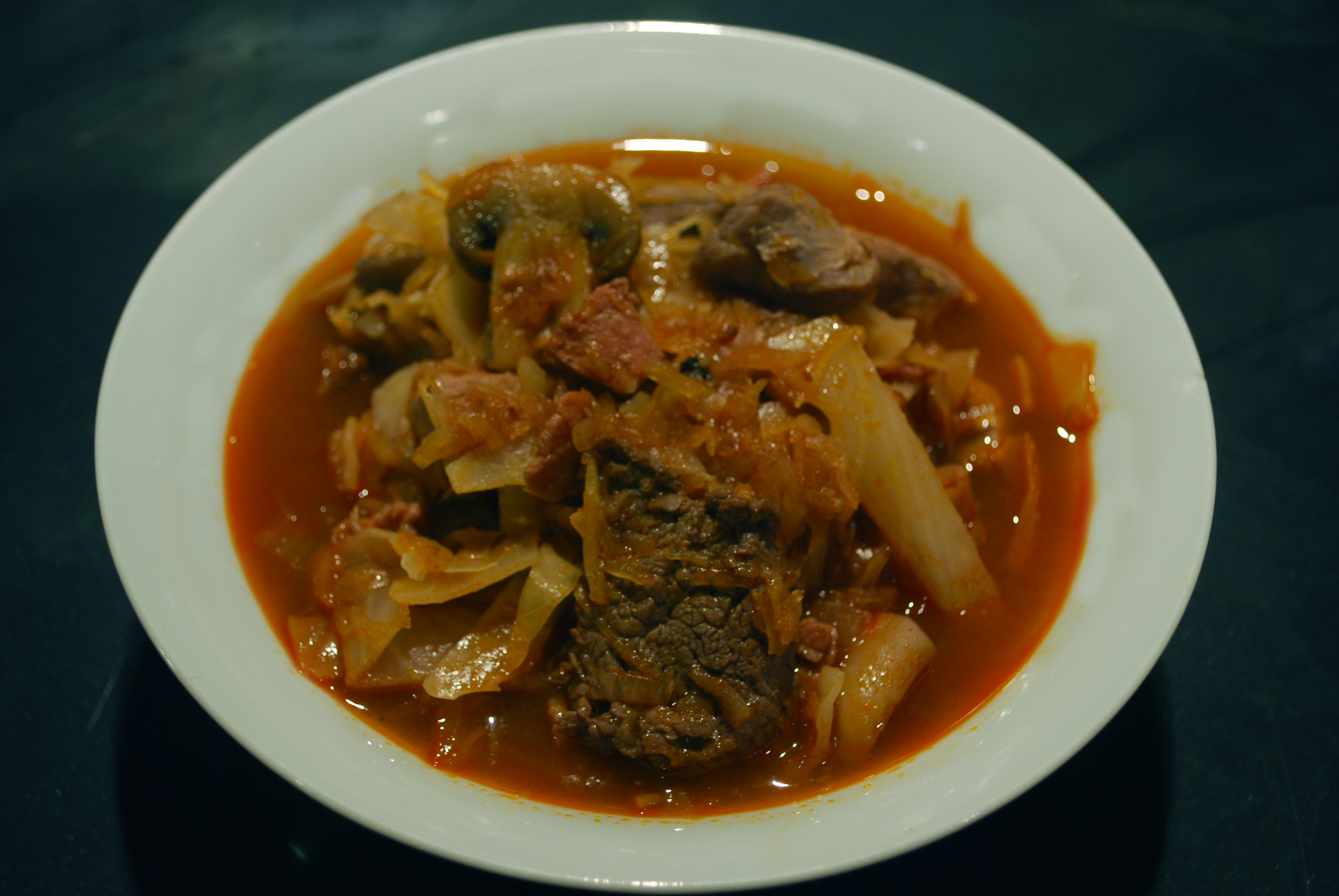 Bigos (Polish hunters' stew) - BigOven