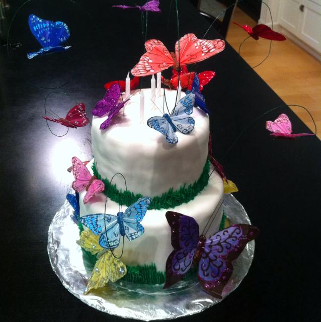 Dessert Birthday Cake