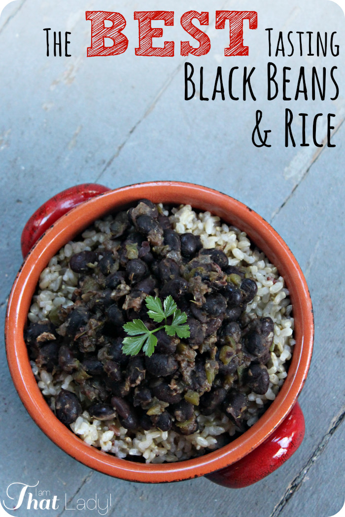 ... Course Soups, Stews and Chili Beans and Legumes Black Beans and Rice