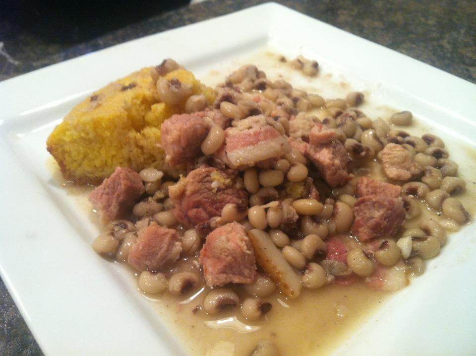 Black-Eyed Peas with Bacon and Pork - BigOven