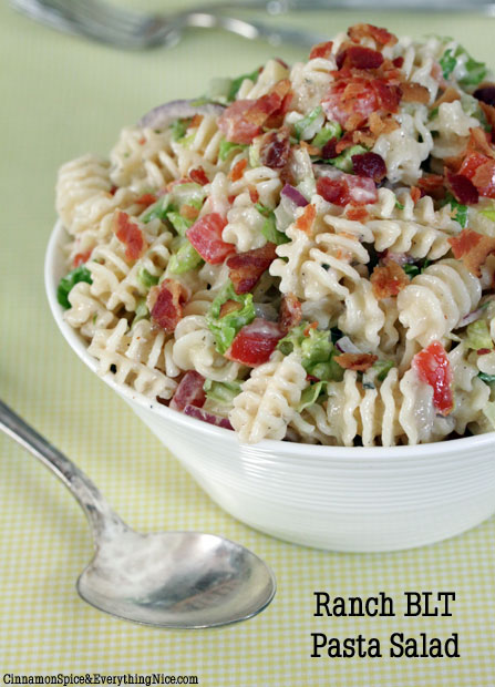 Blt pasta salad eds market blt pasta salad original recipe from food forumfinder Choice Image