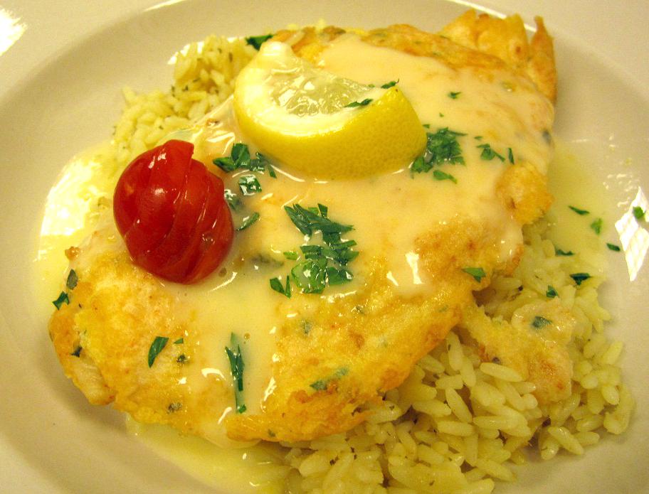Bonefish grill lemon butter sauce bigoven for White wine butter sauce for fish