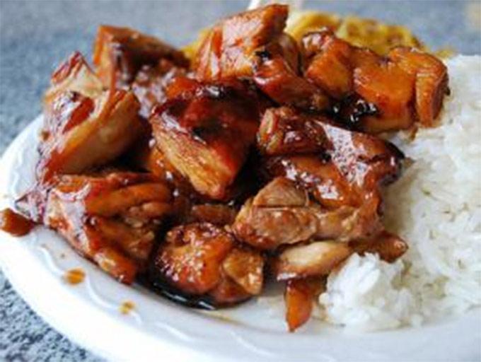 Chinese Food Bourbon Chicken Recipe