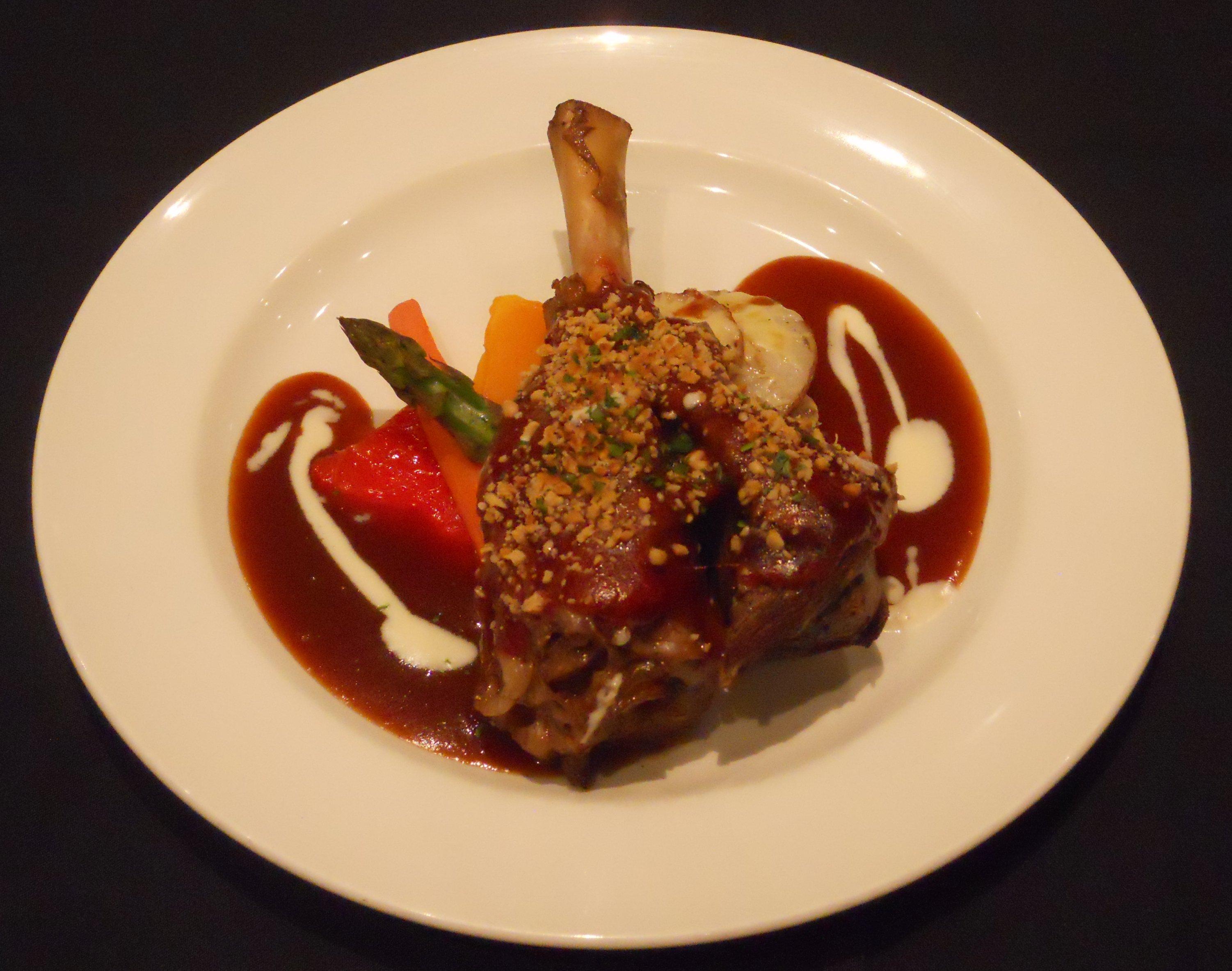 Braised Lamb Shanks with Orange Lamb Reduction - BigOven