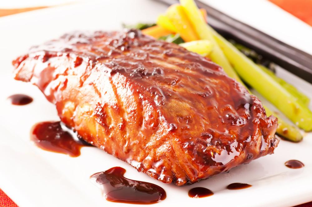 broiled salmon teriyaki ready in 45 minutes broiled salmon teriyaki 7 ...
