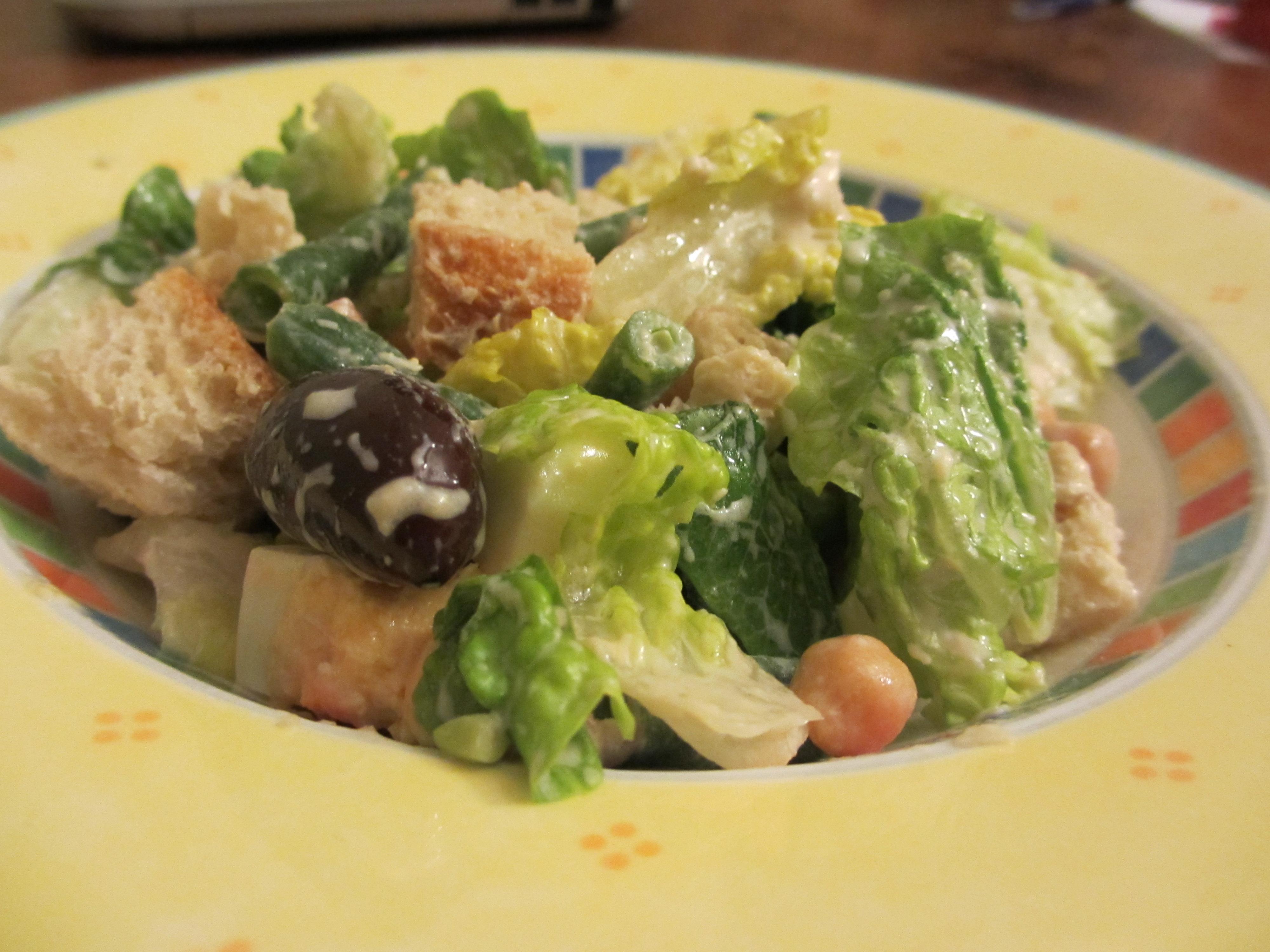 Low Fat Ceasar Salad 2