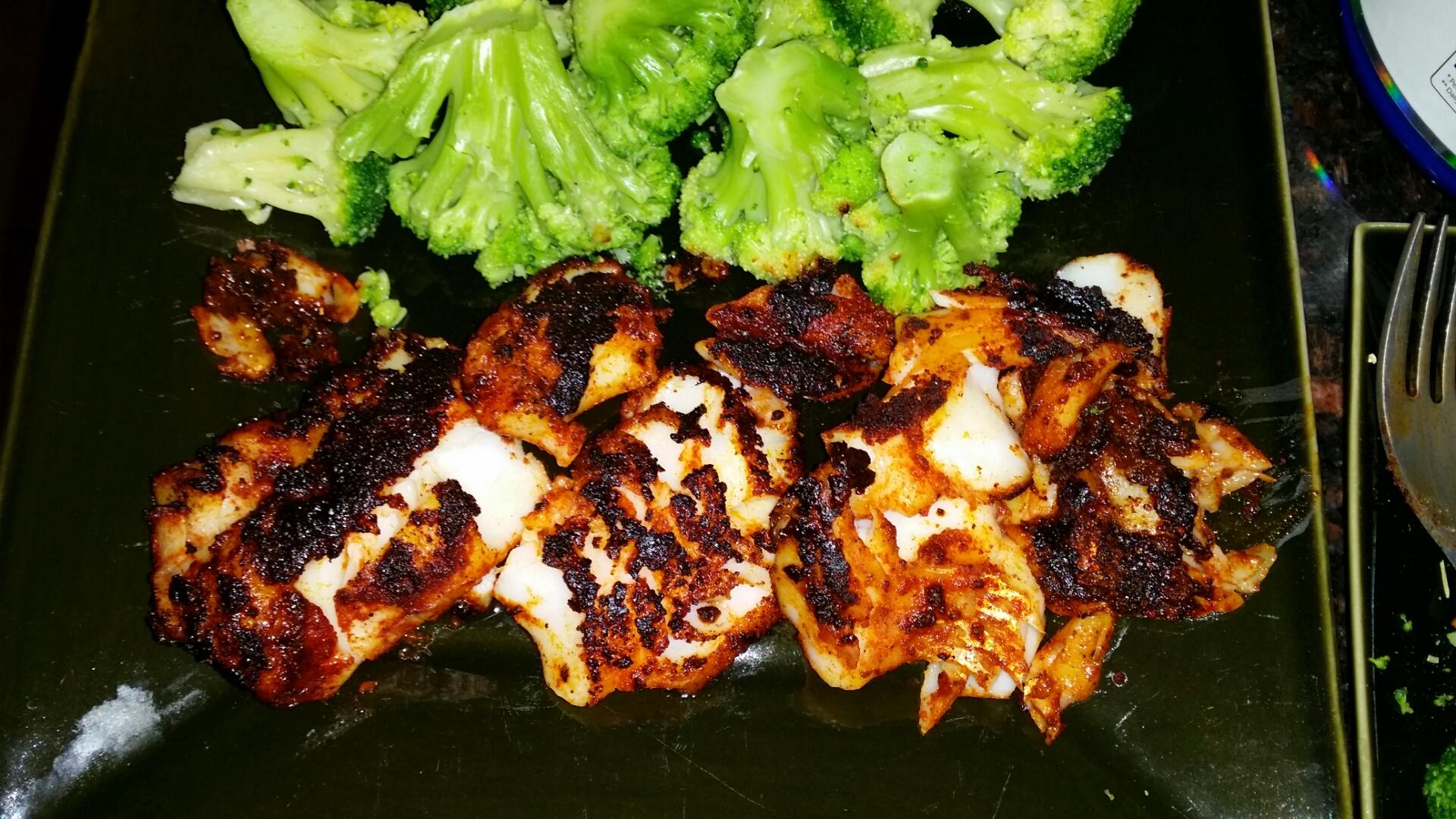 Cajun fish fillets bigoven for Cajun fish recipes