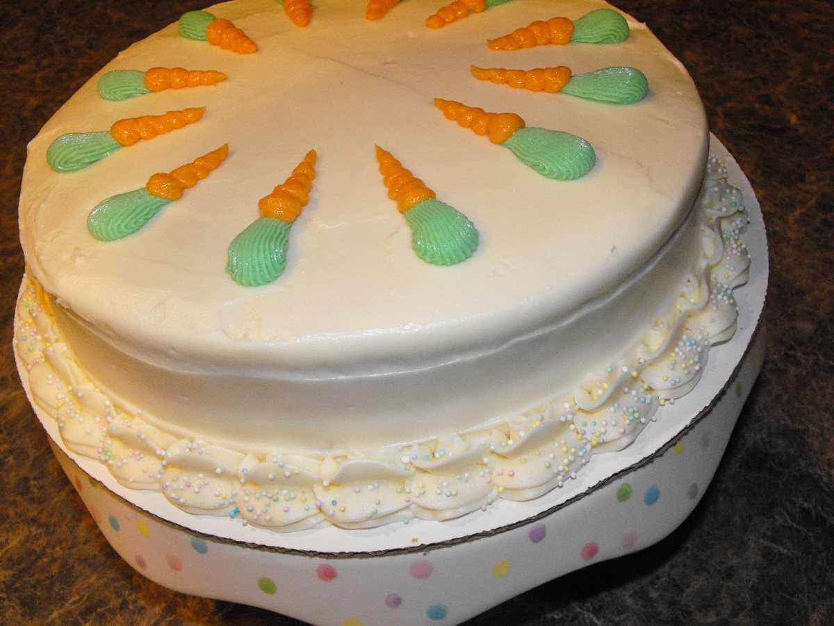 carrot pineapple cake with apricot cream frosting 1 review 4 100 % ...