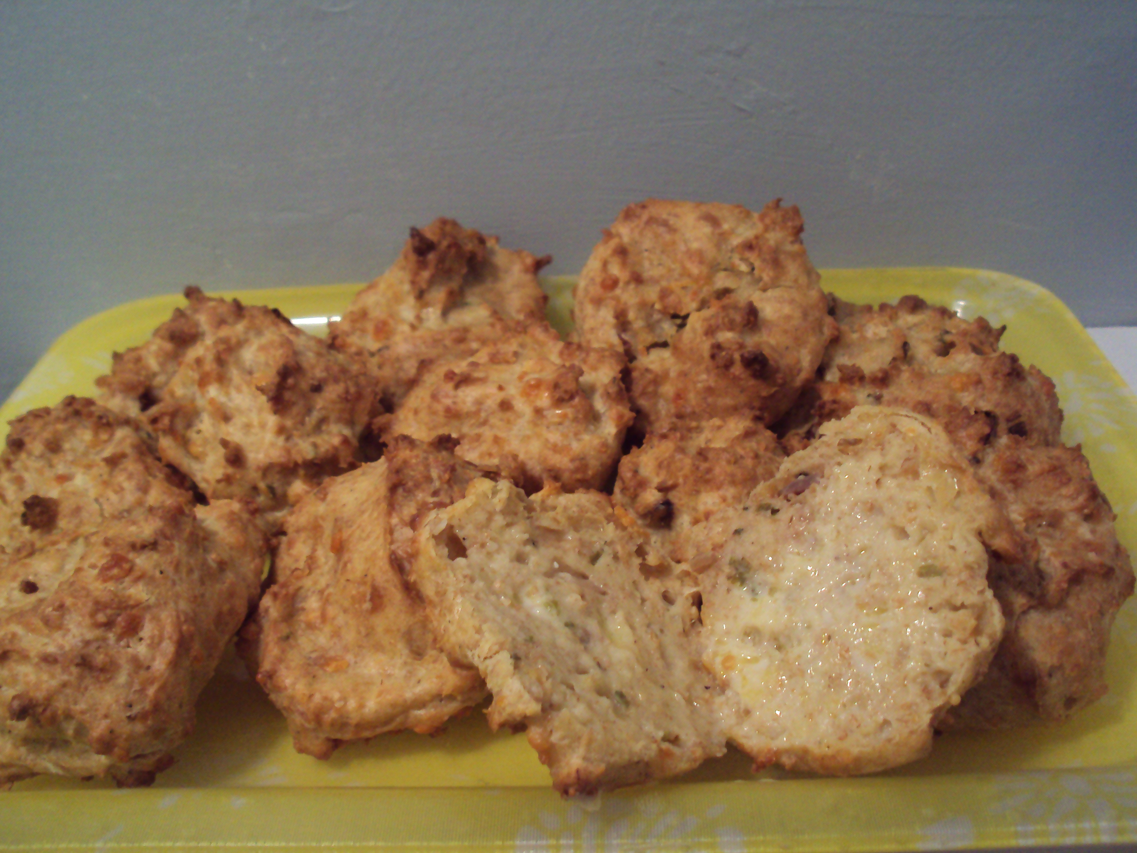 Cheddar Chive Biscuits - BigOven