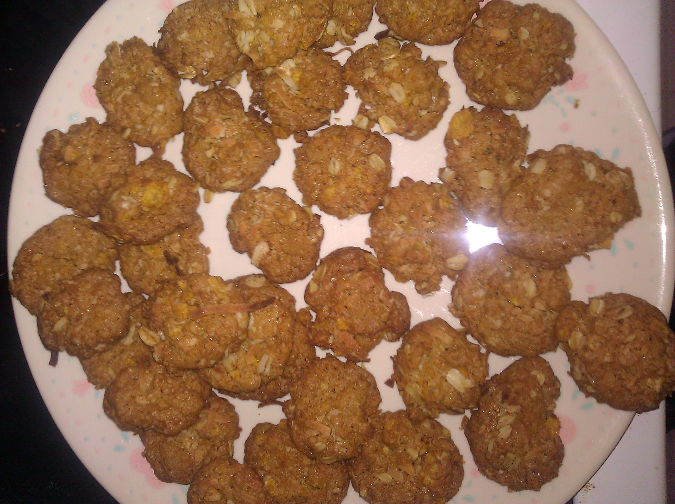Chewy crispy Coconut Cookies - BigOven