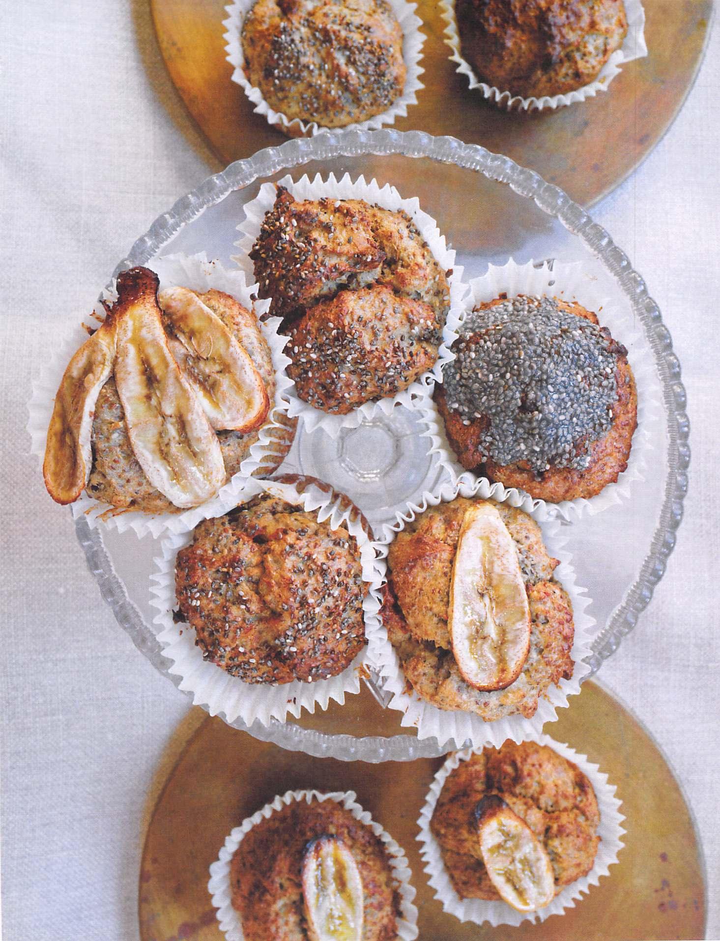 Chia muffin recipe le pain
