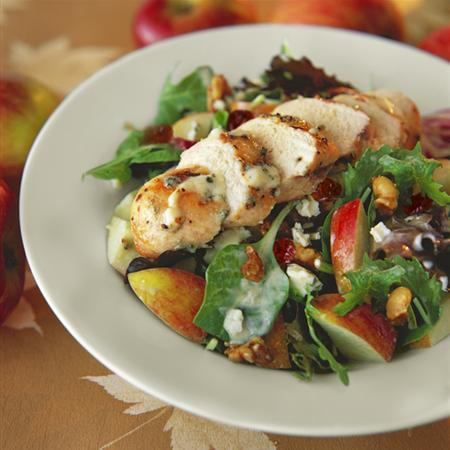 Delcious, healthy chicken salad