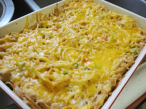 Easy chicken spaghetti casserole recipes