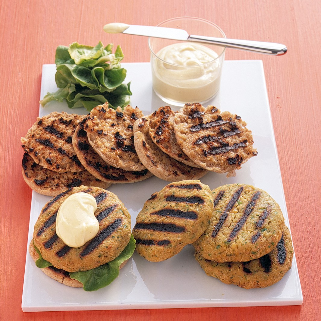 chickpea burger ready in 1 hour from marthastewart com chickpea burger ...