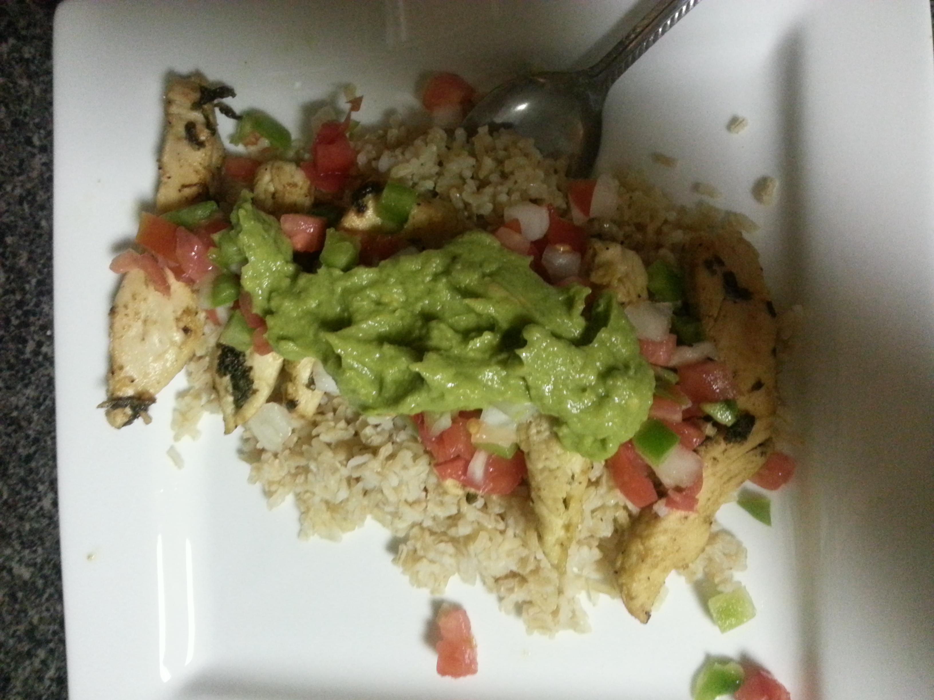 Cilantro-lime Chicken with Avocado Salsa - BigOven