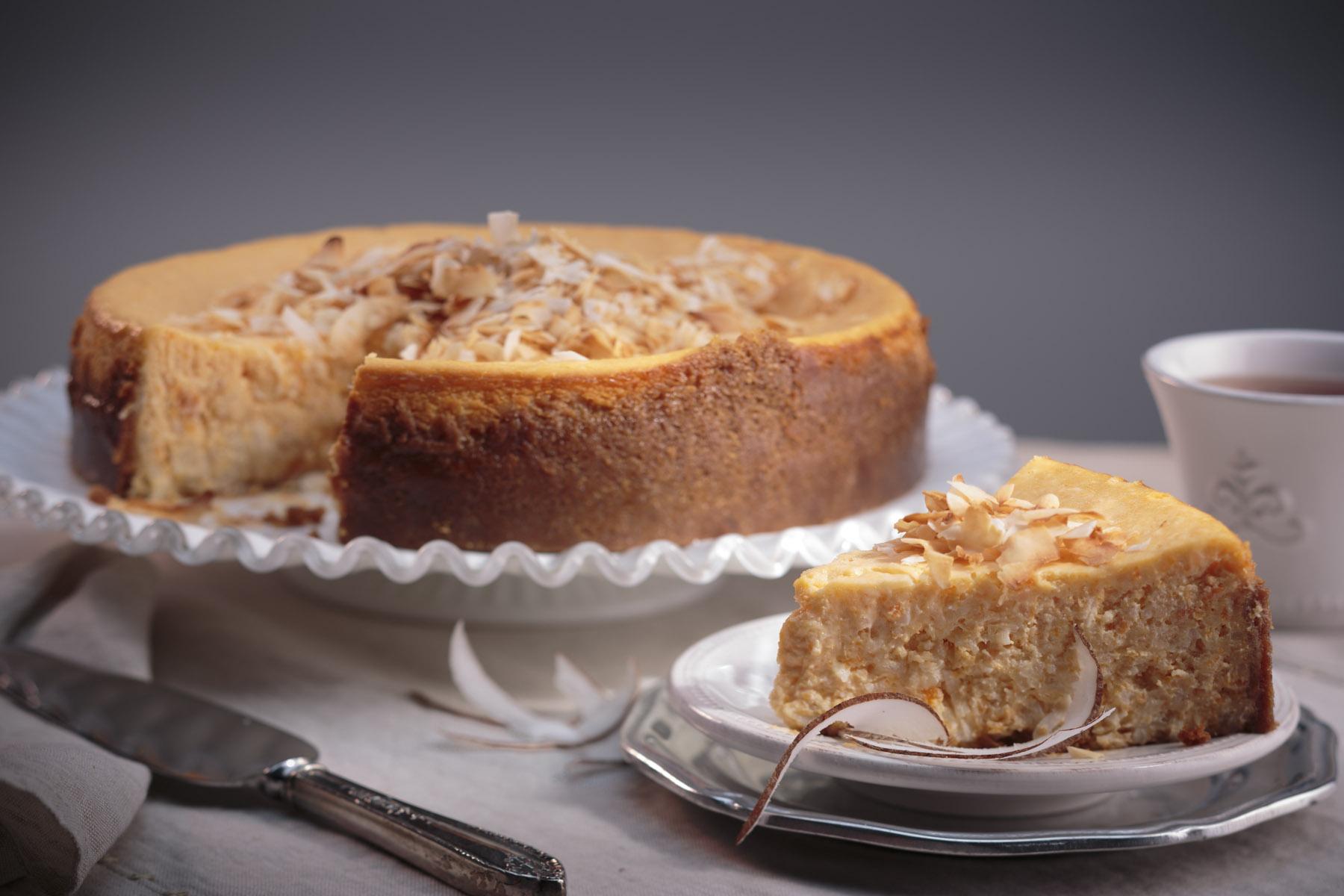 Coconut Rice Sweet Potato Cheesecake - BigOven