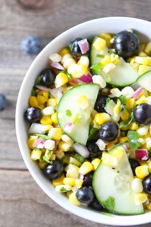 Corn and Blueberry Salad - BigOven