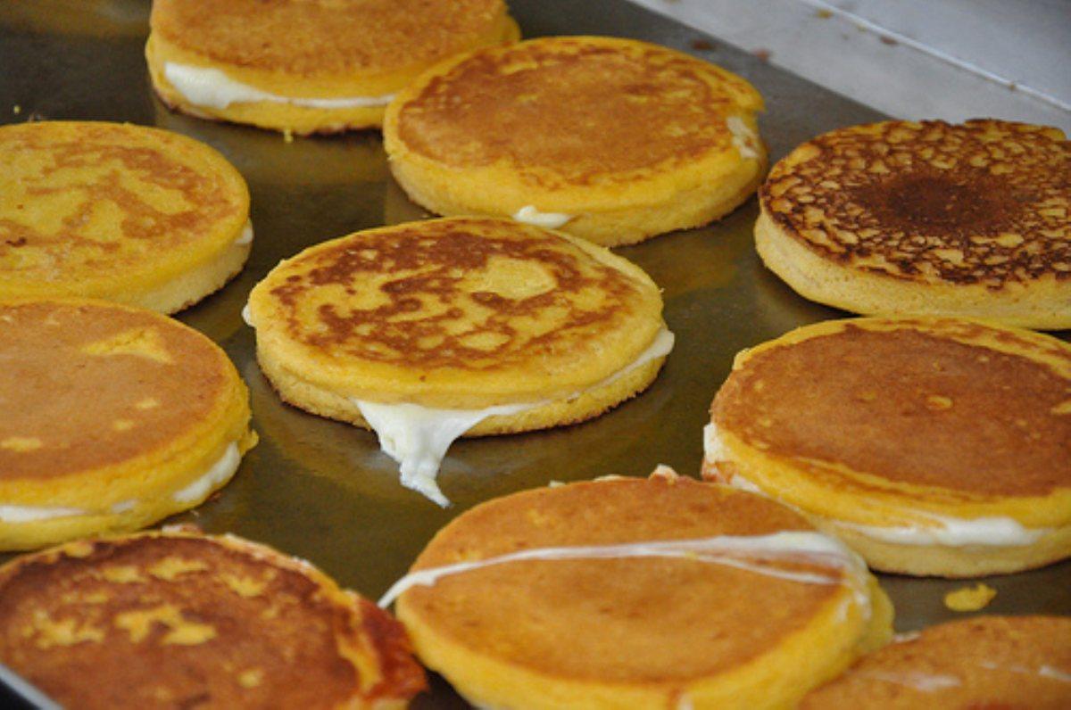 corn pancake sandwiches arepas de choclo keil s fresh food store