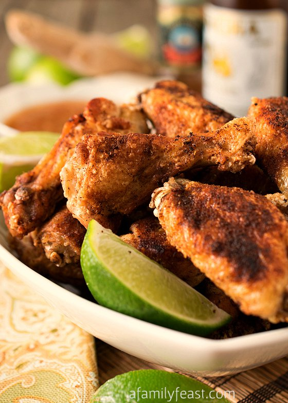 Recipes Course Appetizers Meat Crispy Asian Chicken Wings with Ginger ...