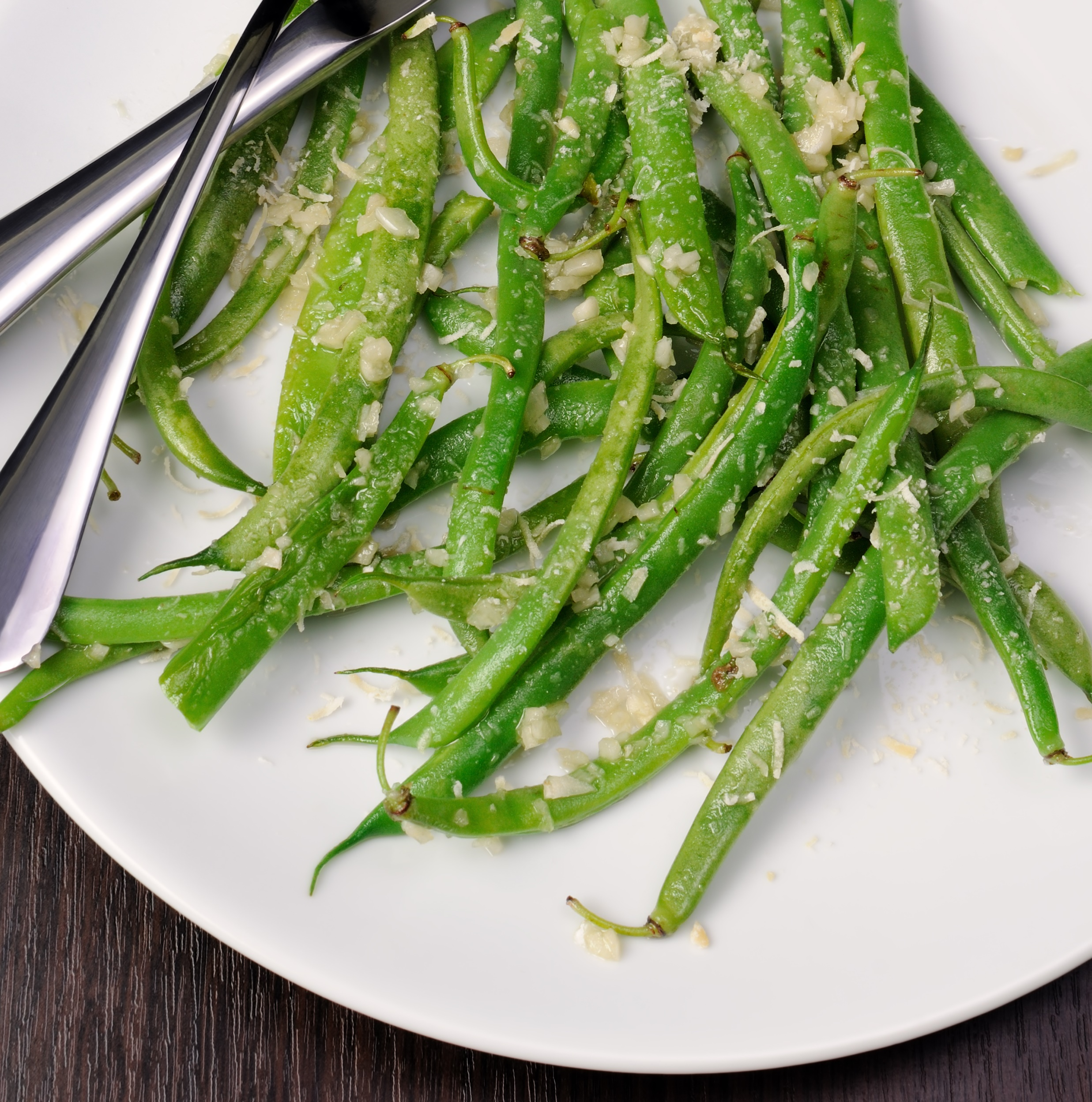 Crispy Baked Parmesan Green Bean Fries - BigOven