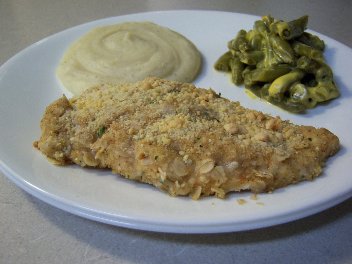 Crispy Ranch Oven Fried Chicken Breasts - BigOven