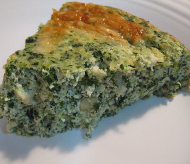 Crustless Spinach Quiche - BigOven
