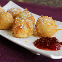 Cinnamon Rice Fritters