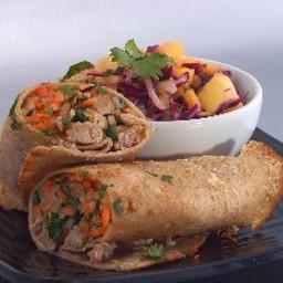 Asian Sandwich Bahn Mi Wraps