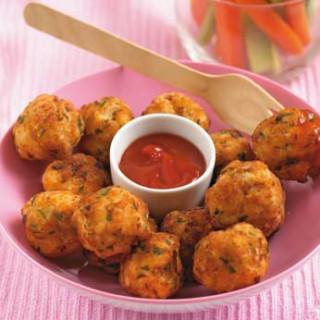 Annabel Karmel's chicken and apple balls
