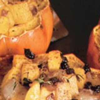 Baby Winter Squash with Spiced Orange-Currant Stuffing