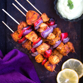 Chicken Tikka Kebab