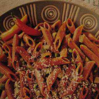Chili Pepper Pasta with Jalapeno Butter Sauce