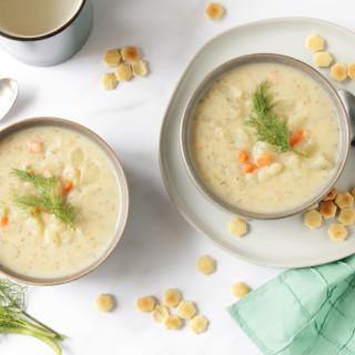Crock Pot Potato Dill Soup