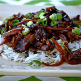 Crockpot Mongolian Beef - Gluten Free Dairy Free Version