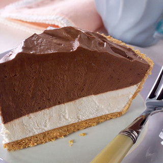 Double-Layer Chocolate Pie