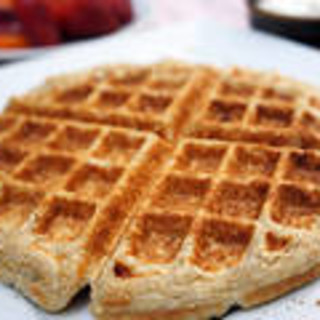 Gluten-Free Cinnamon Roll Waffles