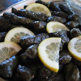 Greek Dolmades RecipeStuffed Grape Leaves