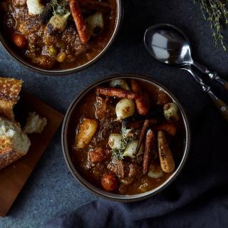 Instant Pot Beef Stew {Paleo, Gluten-free}