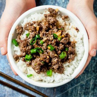 Korean Beef Bowl Recipe (Gluten-free, Dairy-free)