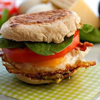 Loaded Breakfast Sandwich Recipe
