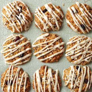 Maple-Raisin Oatmeal Cookies